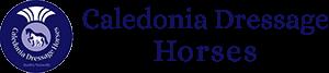 Caledonia Dressage Horses Logo